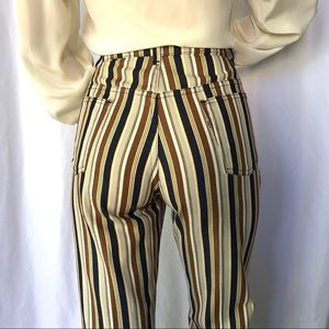 VINTAGE | RARE Levi's Big E striped bellbottoms